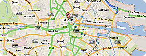 driving lessons dublin: areas covered